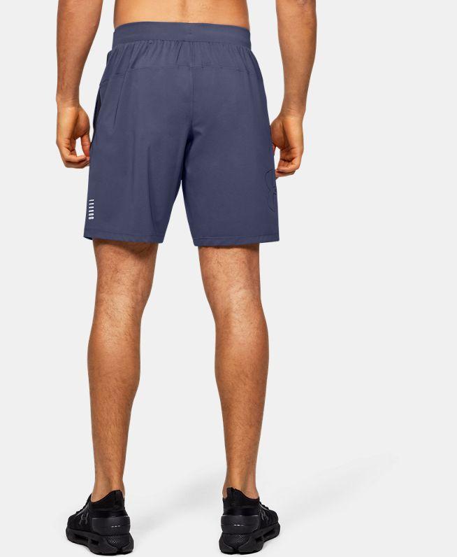 男士UA Qualifier Speedpocket Linerless 9英寸短裤