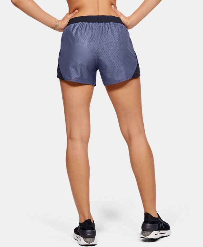 女士UA Fly-By 2.0 Cire Perforated短裤