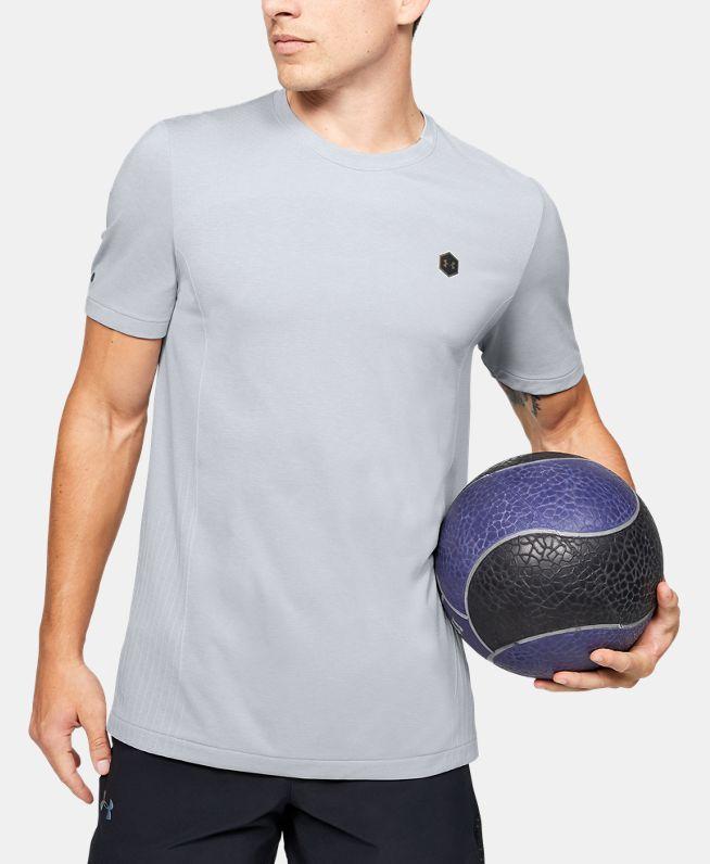 男士UA RUSH Seamless Fitted短袖T恤