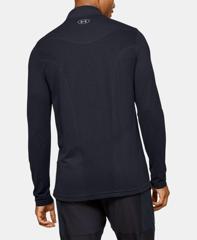 男士UA Seamless 1/2拉链运动上衣