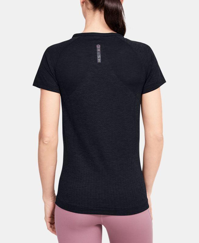 女士UA RUSH Seamless短袖T恤