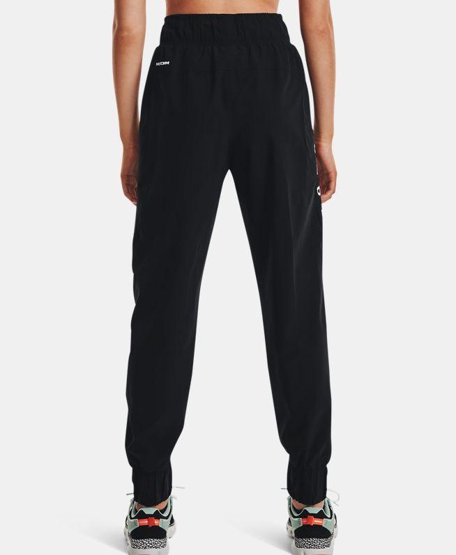 女士UA Woven Branded长裤