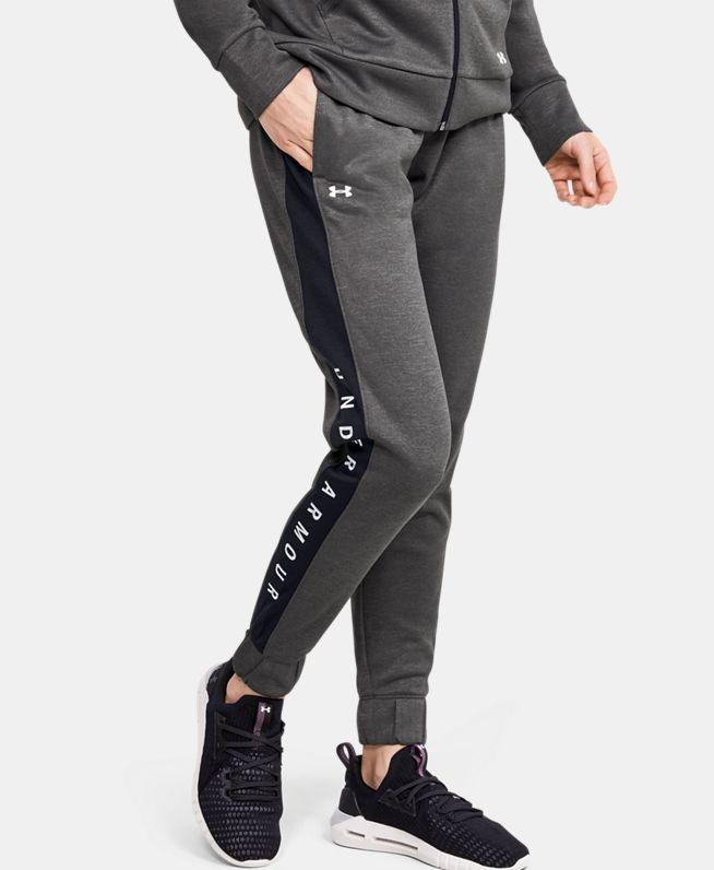 女士UA Recovery针织长裤
