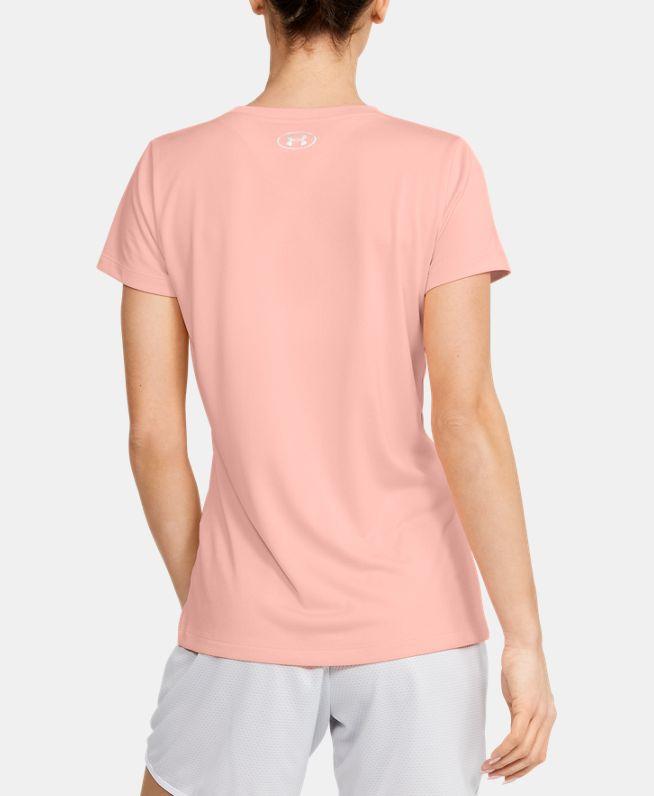 女士UA Tech Branded Fit Kit短袖圆领运动衣