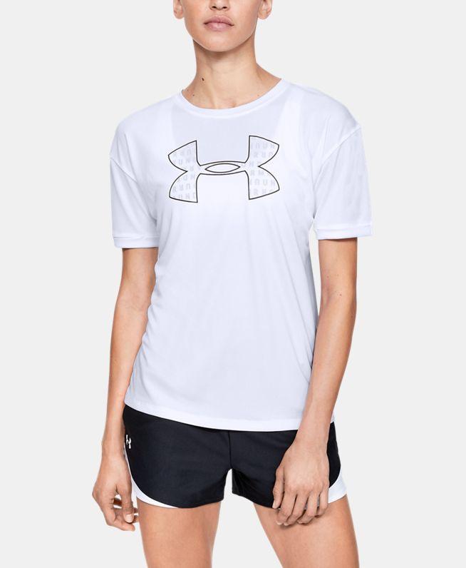 女士UA Performance Fashion Graphic T恤