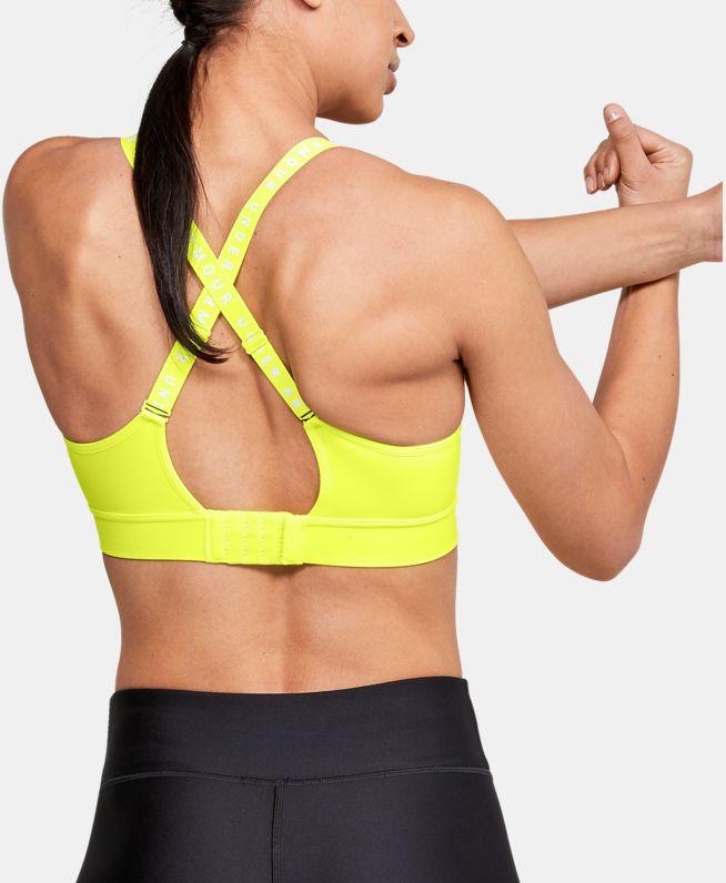 女士UA Infinity运动内衣—中强度