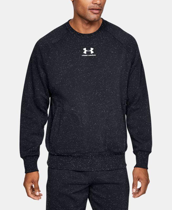 男士UA Speckled Fleece圆领运动衣