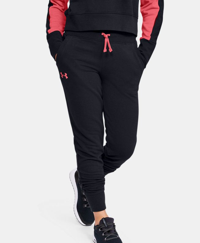 女童UA Rival Terry Joggers长裤