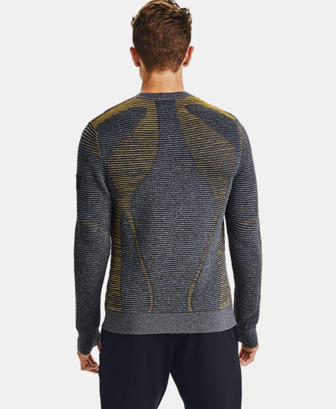 男士UA IntelliKnit Phantom 2.0圆领运动衣