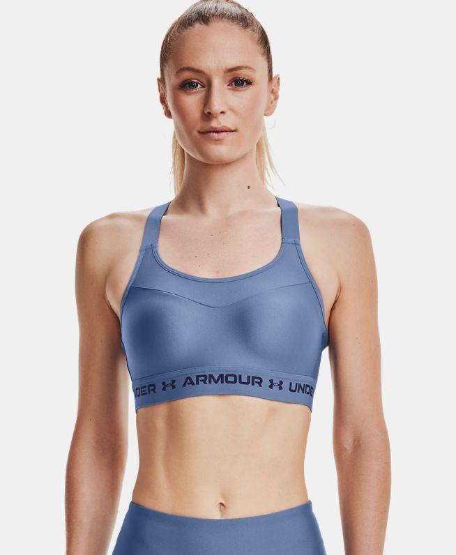 女士Armour Crossback运动内衣—高强度