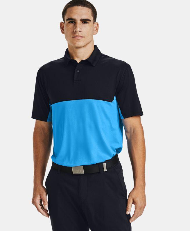 男士UA Performance 2.0 Crestable Colorblock Polo衫