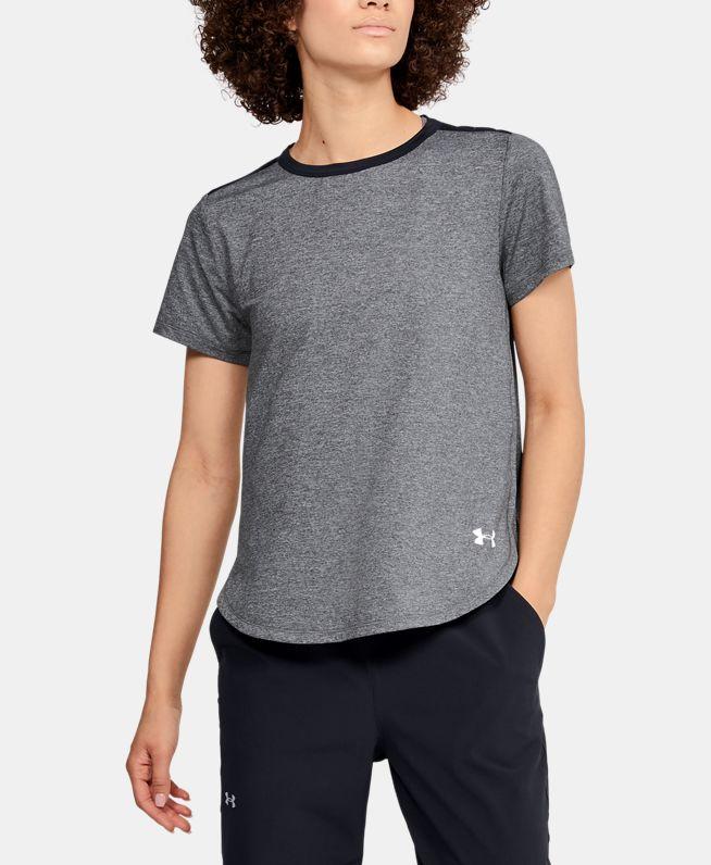 女士UA Armour Sport Crossback短袖T恤