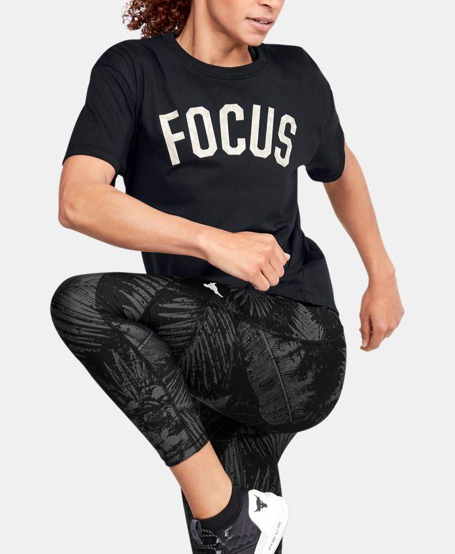 女士Project Rock Mahalo短袖T恤