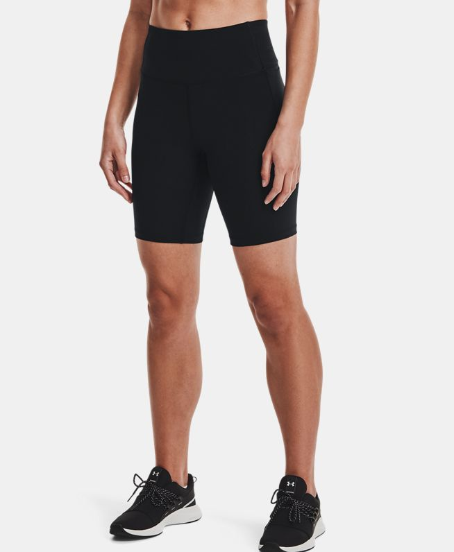 女士UA Meridian Bike单车短裤