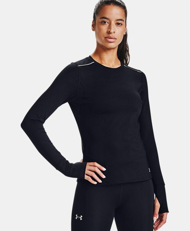 女士UA Empowered长袖圆领运动衣