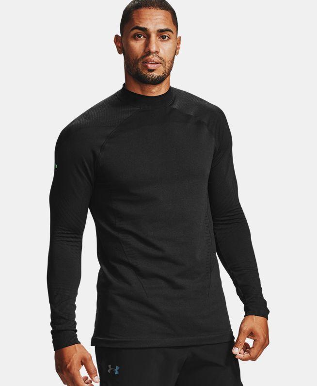 男士UA RUSH ColdGear® Seamless高领运动衣