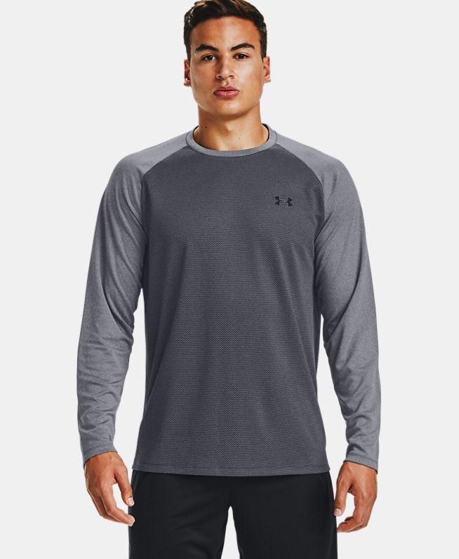 男士UA Textured长袖运动衣