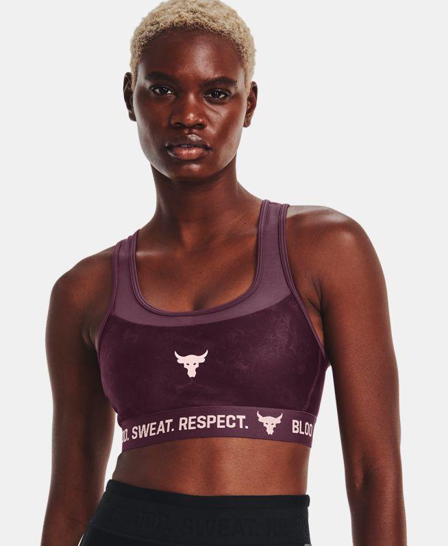 女士Project Rock运动内衣—中强度