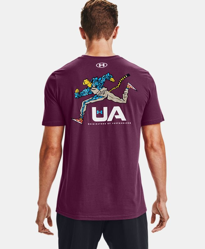 男士UA Running Cheetah T恤