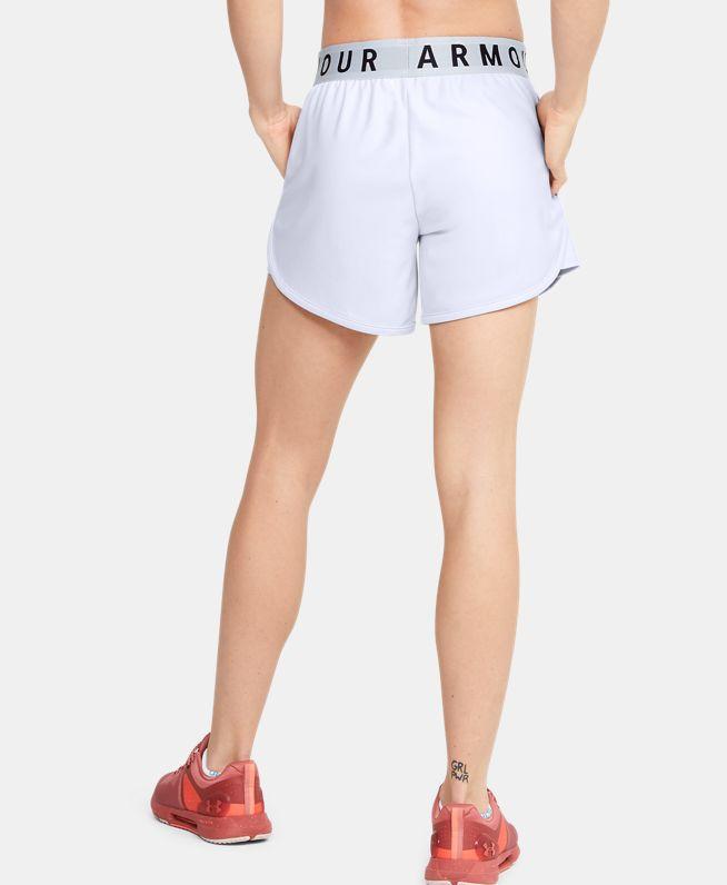 女士UA Play Up 5英寸印花短裤