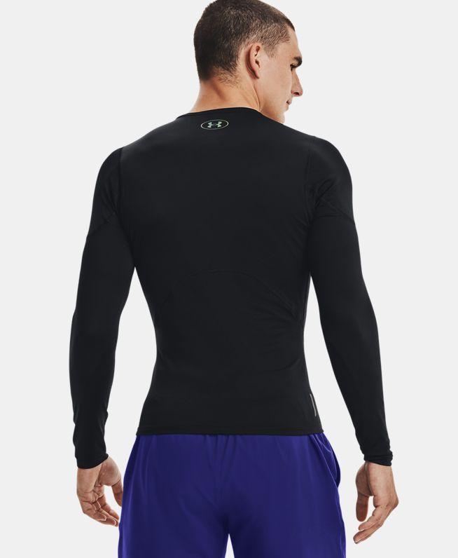 男士UA RUSH UA HeatGear® 2.0强力伸缩型长袖上衣
