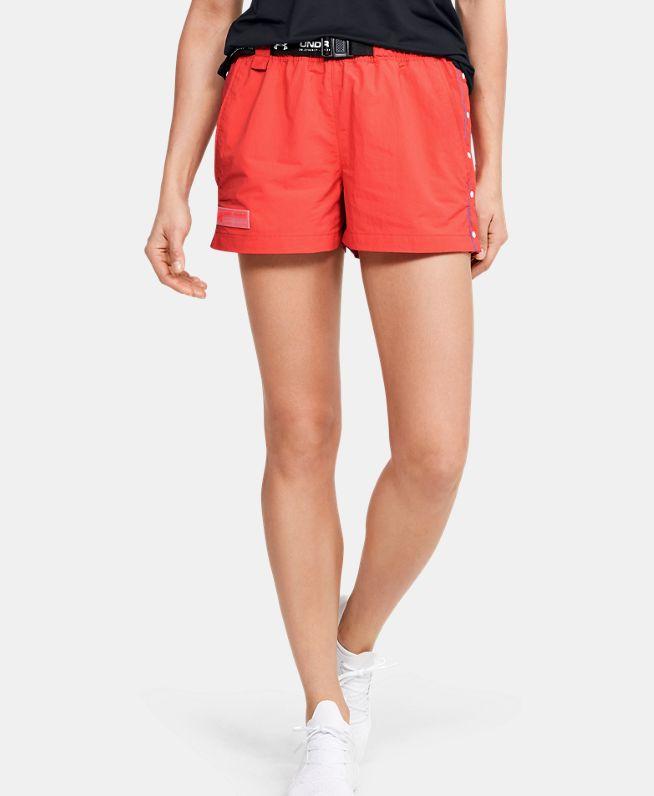 女士UA Summit梭织短裤