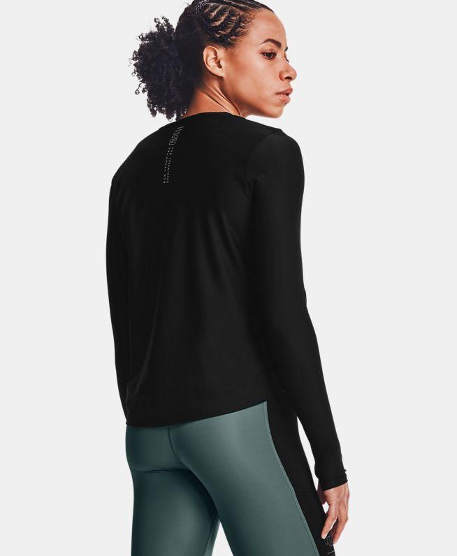 女士UA Run Anywhere Cropped长袖运动衣