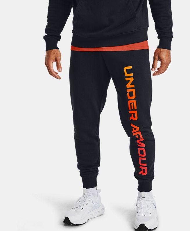 男士UA Rival MAX抓绒长裤