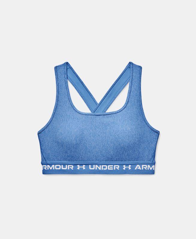 女士Armour Crossback Heather运动内衣—中强度