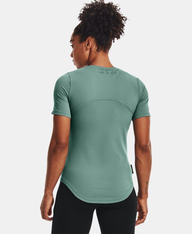 女士UA Meridian + Moisture Infuse短袖T恤