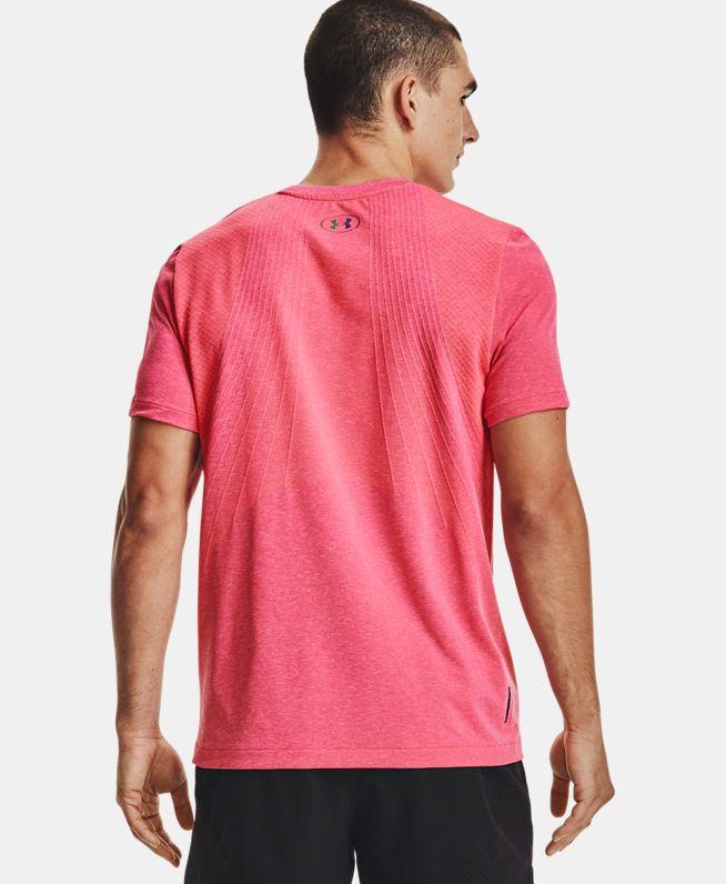 男士UA RUSH Seamless短袖T恤