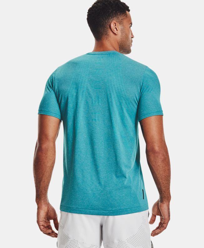 男士UA RUSH Seamless Strength短袖T恤