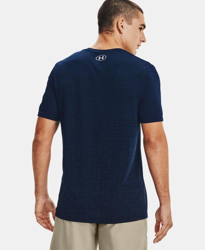 男士UA Seamless Wordmark短袖T恤