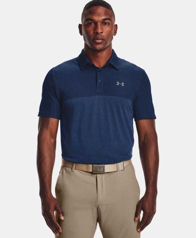 男士UA Vanish Seamless Blocked Polo衫