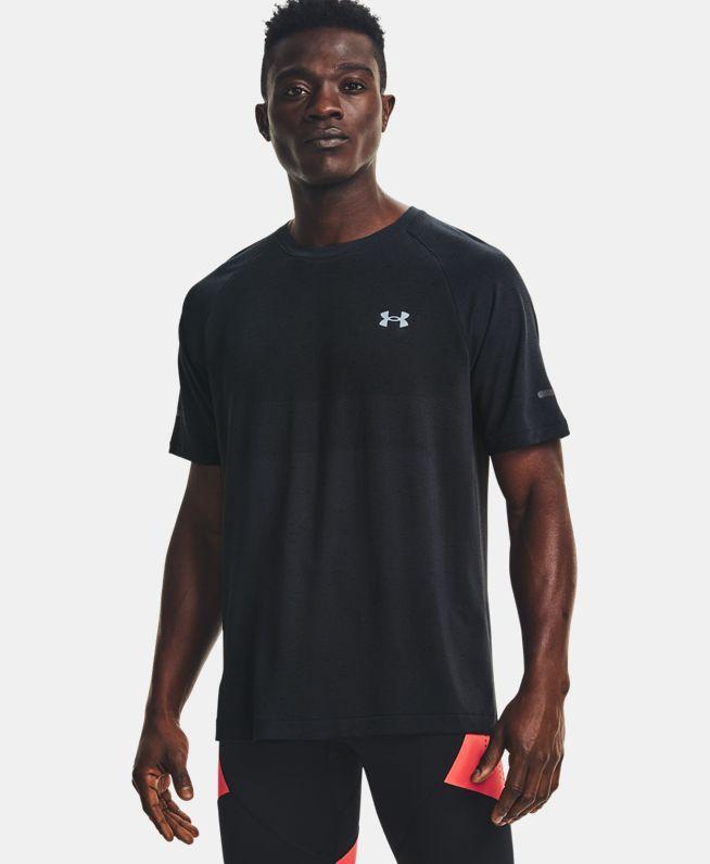 男士UA Vanish Seamless跑步短袖T恤