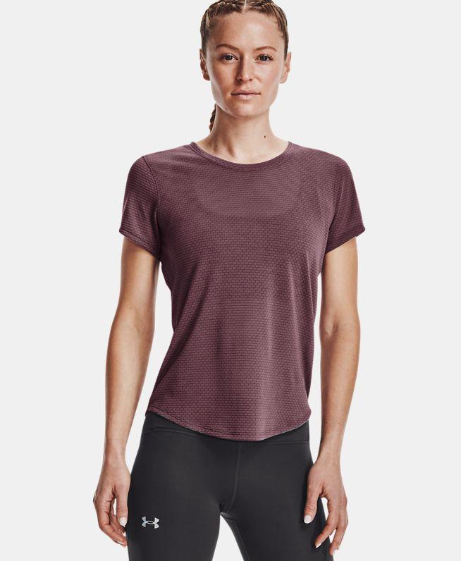 女士UA Streaker跑步短袖T恤