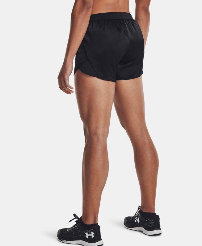 女士UA Fly-By 2.0 Shine短裤