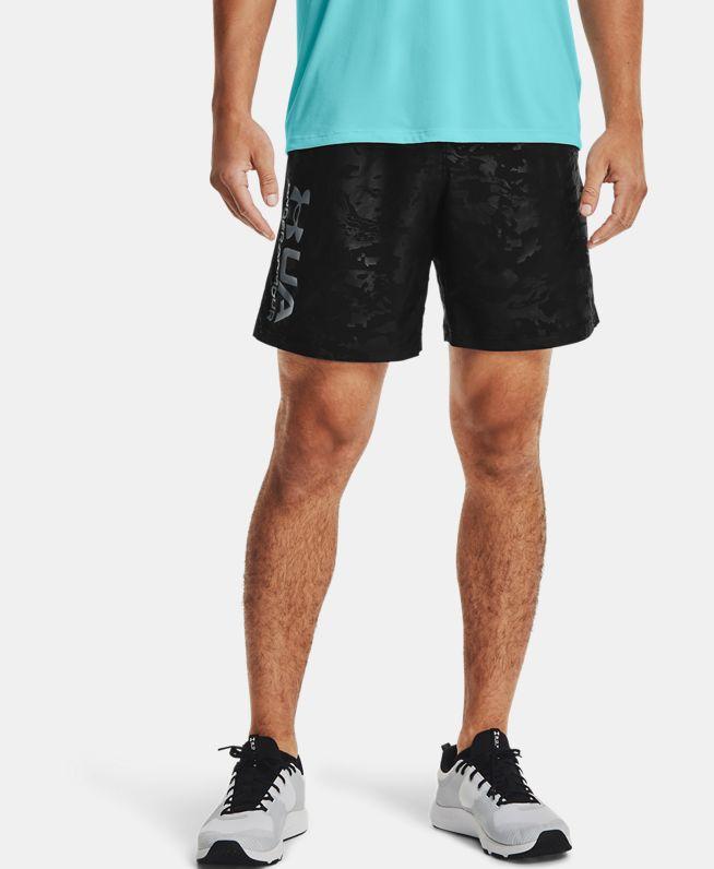 男士UA Emboss梭织短裤