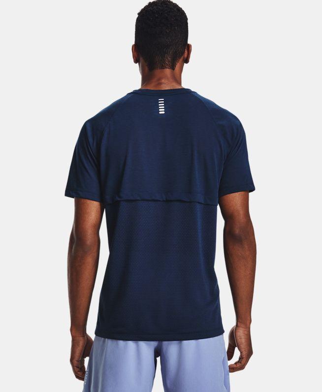 男士UA Streaker跑步短袖T恤