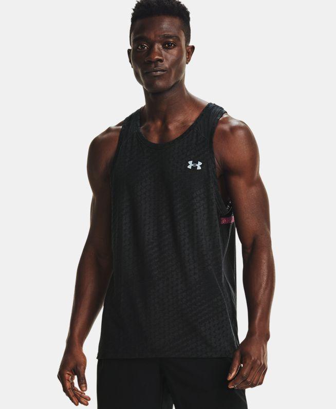 男士UA Streaker Runclipse无袖T恤