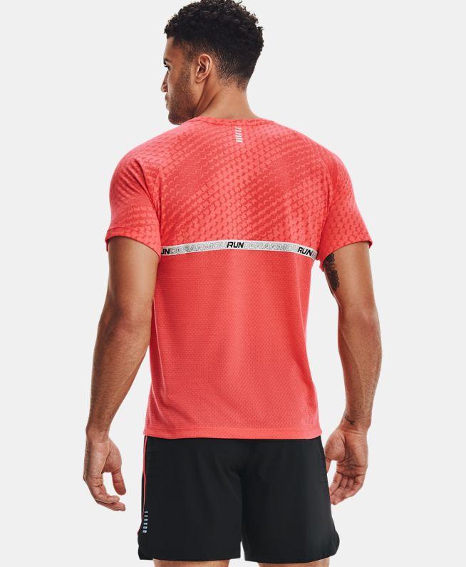男士UA Streaker Runclipse短袖T恤