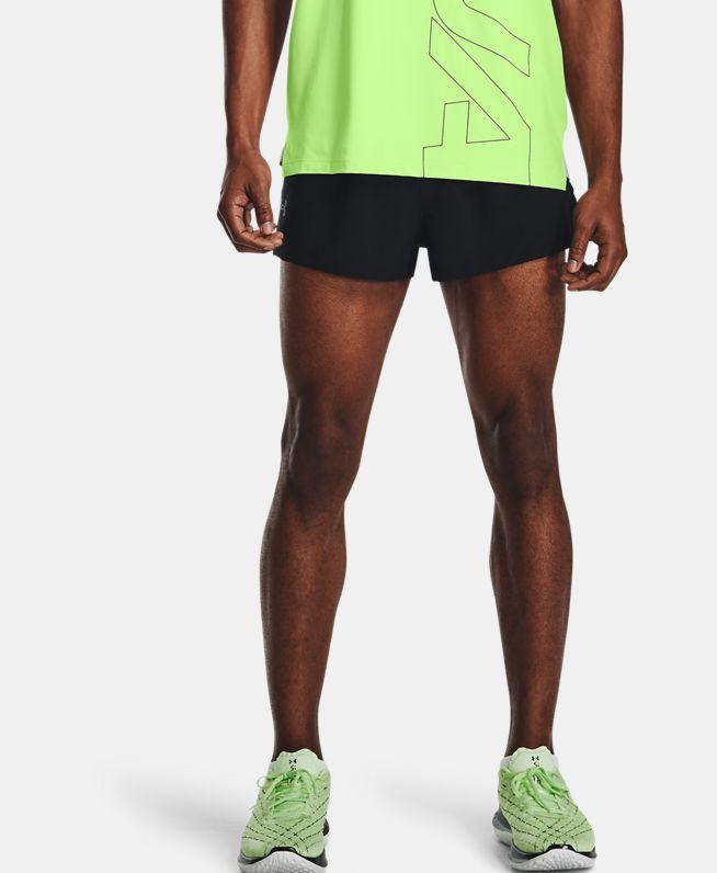 男士UA Launch Split跑步短裤