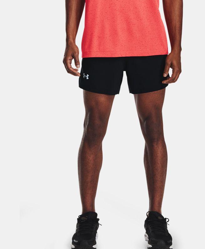 男士UA Launch 5英寸跑步短裤