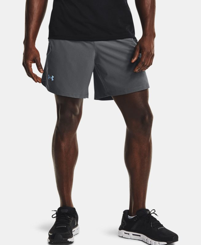 男士UA Launch 7英寸跑步短裤
