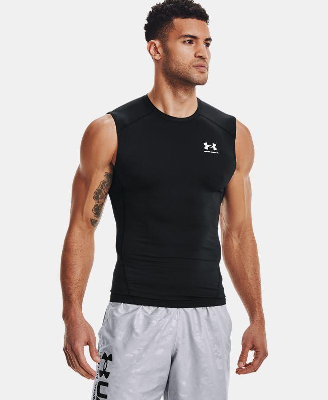 男士HeatGear®Armour无袖T恤