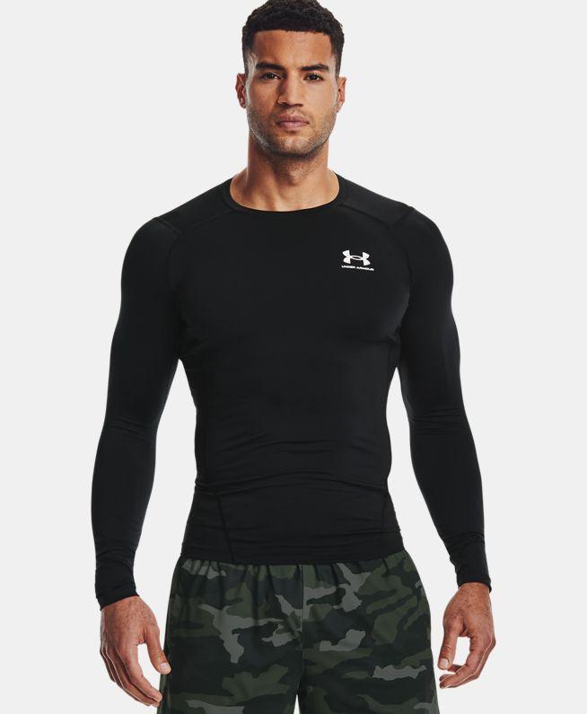 男士UA HeatGear® Armour长袖上衣