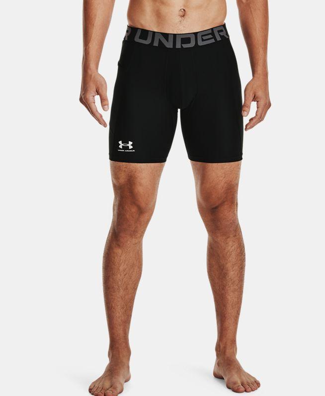 男士UA HeatGear® Armour强力伸缩型短裤