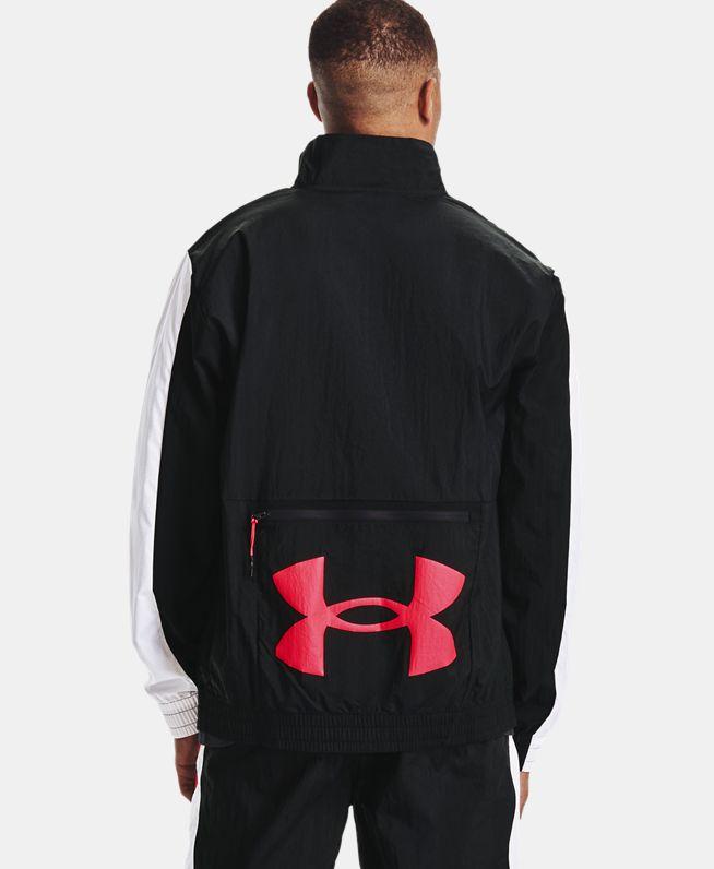 男士UA Track梭织夹克