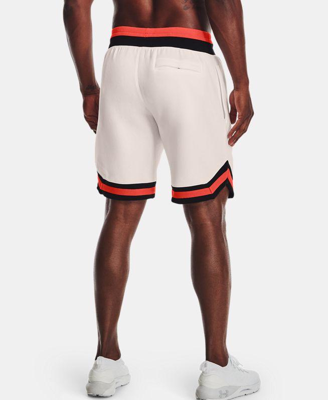 男士UA Rival AMP抓绒短裤