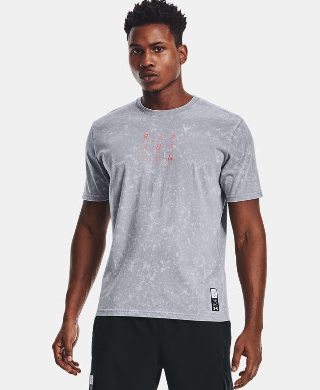 男士UA Anywhere跑步短袖T恤